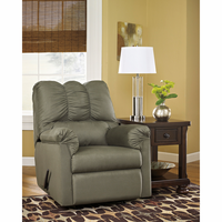 Flash Furniture Signature Design by Ashley Darcy Rocker Recliner in Sage Fabric