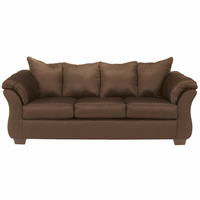 Flash Furniture Signature Design by Ashley Darcy Sofa in Cafe Fabric