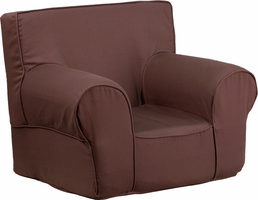 Flash Furniture Small Solid Brown Kids Chair