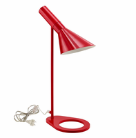 Flashlight Table Lamp, Red [FREE SHIPPING]