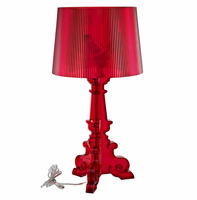 French Grand Table Lamp, Red [FREE SHIPPING]
