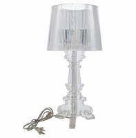 French Petite Table Lamp, Clear [FREE SHIPPING]