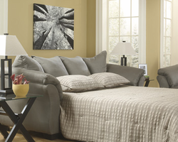 Ashley Furniture Full Sofa Sleeper, Cobblestone