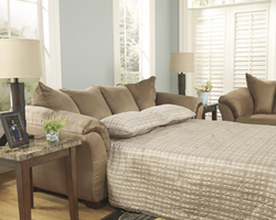 Ashley Furniture Full Sofa Sleeper, Mocha