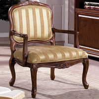 Furniture of America FOA-CM-AC6100 Burnaby Traditional Accent Chair