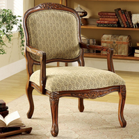 Furniture of America FOA-CM-AC6919 Quintus Traditional Accent Chair