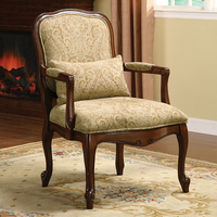 Furniture of America FOA-CM-AC6980 Waterville Traditional Accent Chair