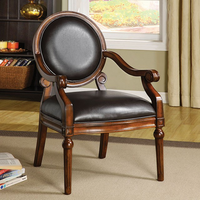 Furniture of America FOA-CM-AC6910 West Point Traditional Accent Chair