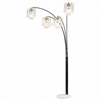 Furniture of America FOA-L99657K Elouise Traditional Arch Lamp
