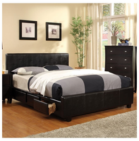 Storage beds with drawers or hydraulic lift storage for Furniture burlington wa
