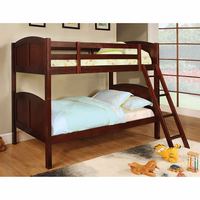 Furniture of America FOA-CM-BK903CH-BED Rexford Cottage Twin/twin Bunk Bed, Cherry Finish