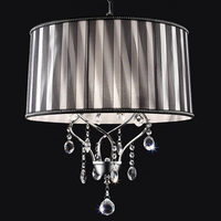 Furniture of America FOA-L95123H Arya Glam Ceiling Lamp, Hanging Crystal