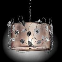 Furniture of America FOA-L95121H Elva Glam Ceiling Lamp, Double Shade