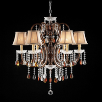 Furniture of America FOA-L95113H Juliet Traditional Ceiling Lamp, Hanging Crystal