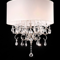 Furniture of America FOA-L95109H Sophy Glam Ceiling Lamp, Hanging Crystal
