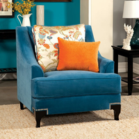 Furniture of America FOA-SM2203-CH Wolver Transitional Chair