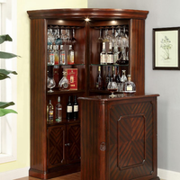 Furniture of America FOA-CM-CR142-CURIO Voltaire Traditional Curio