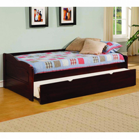 Furniture of America FOA-CM1737-BED Sunset Transitional Daybed w/ Trundle, Cherry
