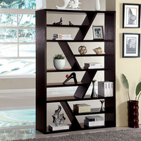 Furniture of America FOA-CM-AC118 Kamloo Contemporary Display Shelf