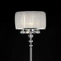Furniture of America FOA-L95139F Chloe Glam Floor Lamp, Hanging Crystal