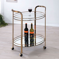 Furniture of America FOA-CM-AC236 Starla Contemporary Serving Cart