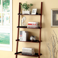 Furniture of America FOA-CM-AC6213CH Sion Contemporary Ladder Shelf, Cherry