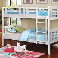 Furniture of America FOA-CM-BK627-BED Cassie Transitional Twin/twin Bunk Bed
