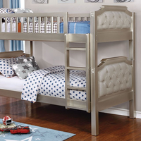 Furniture of America FOA-CM-BK717-BED Beatrice Transitional Twin/twin Bunk Bed