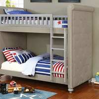 Furniture of America FOA-CM-BK718-BED Sascha Transitional Twin/twin Bunk Bed