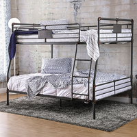 Furniture of America FOA-CM-BK913FQ-BED Olga I Industrial Full/queen Bunk Bed