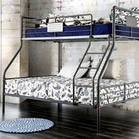 Furniture of America FOA-CM-BK913TF-BED Olga I Industrial Twin/full Bunk Bed