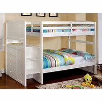 Furniture of America FOA-CM-BK922T-EX-BED Appenzell Cottage Twin/twin Bunk Bed