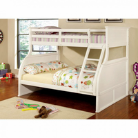 Furniture of America FOA-CM-BK923-BED Canova Cottage Twin/full Bunk Bed