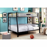 Furniture of America FOA-CM-BK939TQ-BED Claren Contemporary Twin/queen Bunk Bed