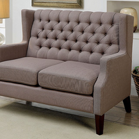 Furniture of America FOA-CM-BN6186-LV-PK Shayla Contemporary Love Seat