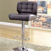 Furniture of America FOA-CM-BR6152GY Kori Contemporary Bar Stool, Gray