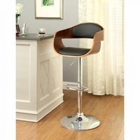 Furniture of America FOA-CM-BR6236 Boxil Contemporary Bar Stool
