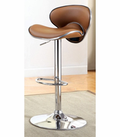 Furniture of America FOA-CM-BR6907CL Kossi Contemporary Bar Stool, Black