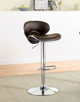 Furniture of America FOA-CM-BR6907DB Kossi Contemporary Bar Stool, Dark Brown