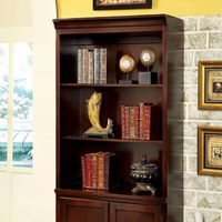 Furniture of America FOA-CM-DK6207S Desmont Transitional Book Shelf, Cherry Finish