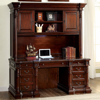 Furniture of America FOA-CM-DK6252H Roosevelt Traditional Hutch