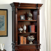 Furniture of America FOA-CM-DK6252S Roosevelt Traditional Book Shelf