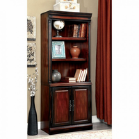 Furniture of America FOA-CM-DK6255S Strandburg Transitional Bookcase