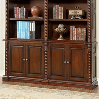 Furniture of America FOA-CM-DK6380SL-B Vicki Traditional Book Shelf Buffet