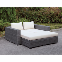 Furniture of America FOA-CM-OS2128-SET25 Somani Contemporary Daybed