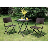 Furniture of America FOA-CM-OT1804 Seren Cottage 3 Pc. Patio Set
