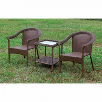 Furniture of America FOA-CM-OT1812-3PK Arimo Contemporary 3 Pc. Patio Set