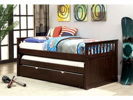 Furniture of America FOA-CM1610-PK Gartel Transitional Nesting Daybed
