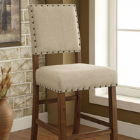 Furniture of America FOA-CM3324BC-2PK Sania Rustic Bar Chair (2/ctn)