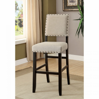 Furniture of America FOA-CM3324BK-BC-2PK Bar Chair (2/Ctn) Antique Black